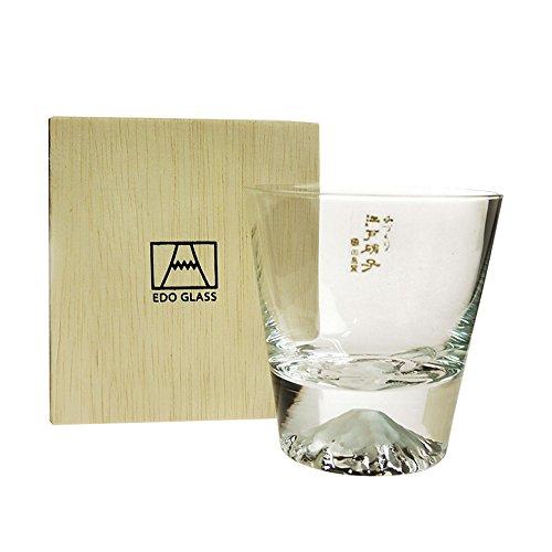 Fuji Glass Fujisan Glass Rock Glass TG15-015-R by Fuji Glass