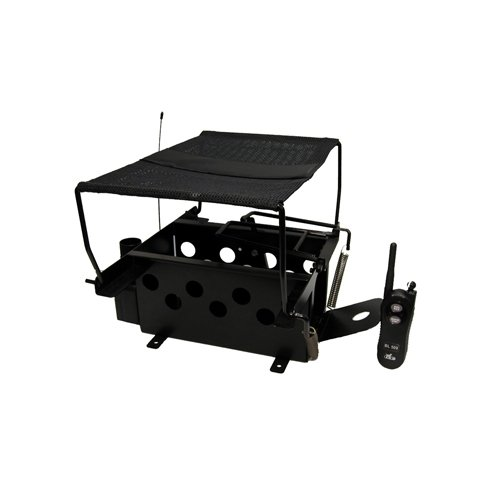 Standard Door Trap - D.T. Systems Remote Bird Launcher 500 Series for Quail and Pigeon Sized Birds with Transmitter Included
