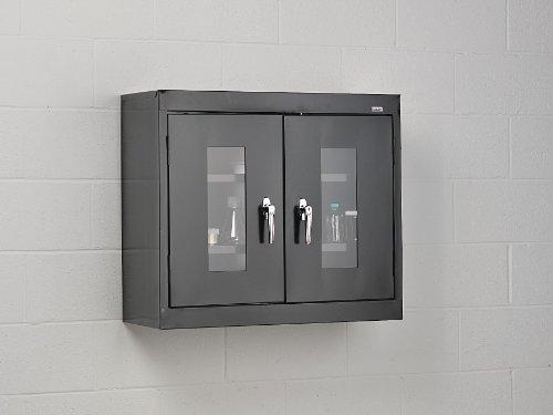 - Wall Mount Cabinet, Welded, Black