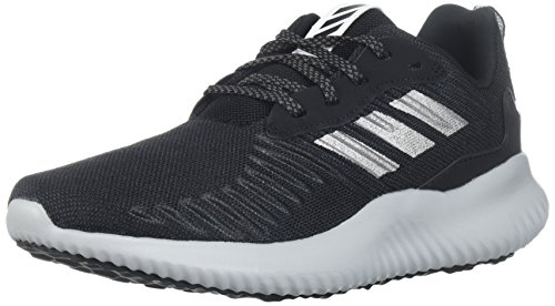 adidas Women's Alphabounce rc w Running Shoe, core Black/Metallic Silver/Grey Five, 5 M US ()