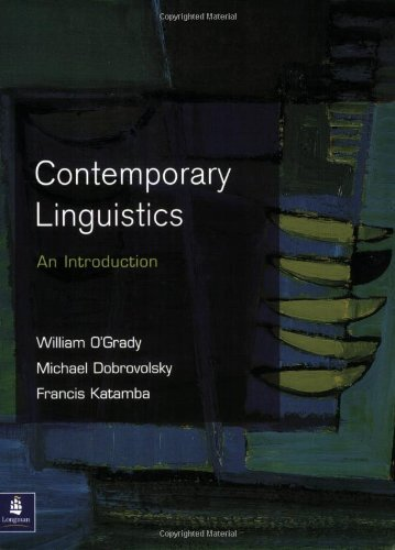 Contemporary Linguistics: An Introduction (Learning about Language Series): 3rd (Third) edition