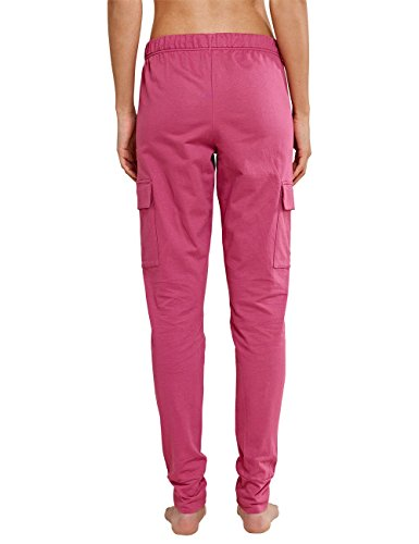 Schiesser Uncover Sweat Pants, Parte Inferior del Pijama para Mujer rojo (beere 512)