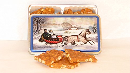 1 Peanut Brittle Gift Tin Peanut Brittle Tin