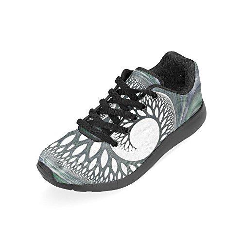 Interestprint Femmes Cross Trainer Trail Chaussures De Course Jogging Sport Léger Marche Athlétisme Sneakers Multi 9