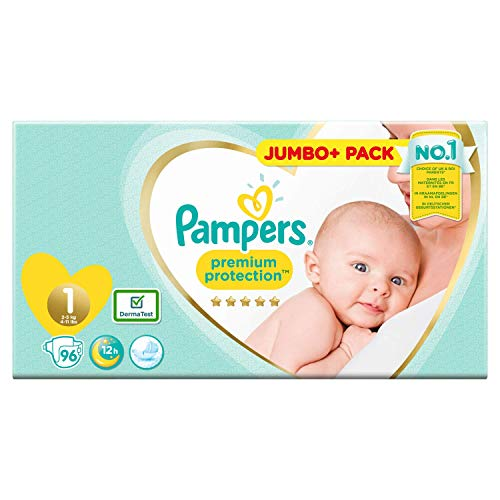 Pampers Premium Protection 81686981 Nappies White
