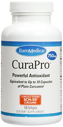 EuroMedica - CuraPro 750 mg 120 softgels [Health and Beauty] by Euromedica