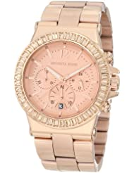 Michael Kors Womens MK5412 Dylan Rose-Tone Watch