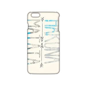 Angle-Store Hakuna Matata simple pattern 3D Phone Case for iPhone 6