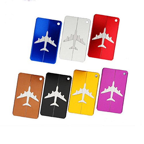 Newtion Luggage Tags,Suitcase Labels Travel ID Labels Tag For Baggage-7 Pack