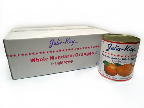 Julie Kay Whole Mandarins in Light Syrup