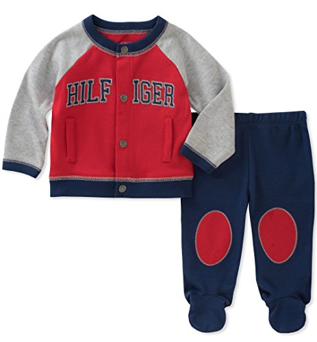 20d7f8b38d65 Galleon - Tommy Hilfiger Baby Boys  Cardigan Pant Set