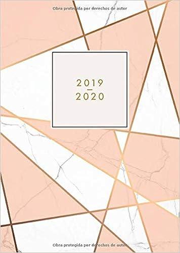 2019 2020: Agenda 2019/2020 español - Agenda semanal 18 meses ...