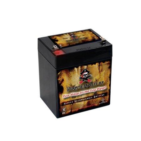 12V 5AH Sealed Lead Acid (SLA) Battery for BSL1050 BSL1055 PC1240 BP512 (Pc1240 Battery)