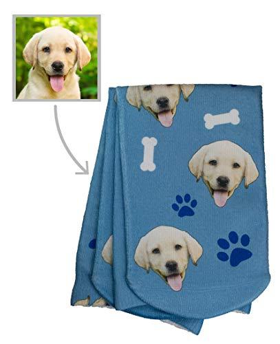 Print Custom Dog - Custom Socks Realistic Customized Pup Socks with your Dog's Face