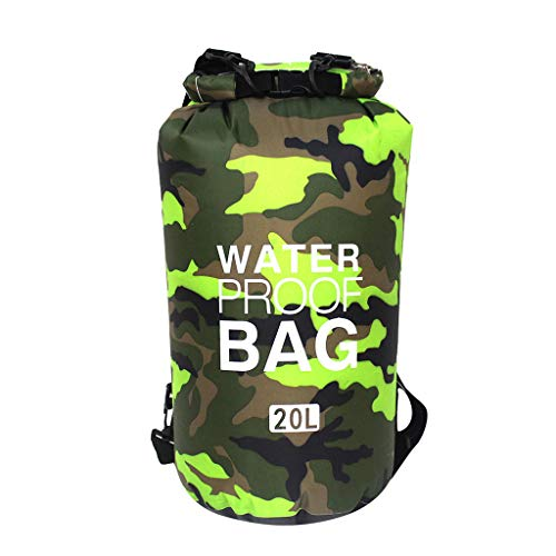 Londony ✡ Heavy Duty Vinyl Waterproof Dry Bag for Boating Kayaking Fishing Rafting Swimming Floating and Camping ()