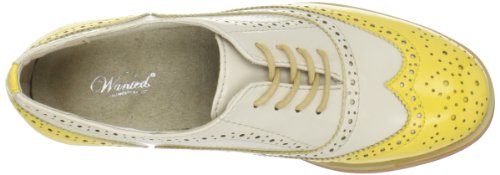 Pictures of Wanted Shoes Women's Babe Oxford Shoe black 2