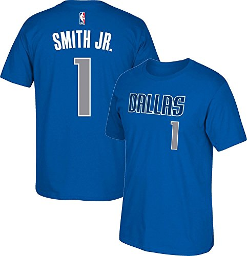 NBA Outerstuff Dennis Smith Jr. Dallas Mavericks #1 Youth HD Net Player T-shirt (Yth Small 8) (Basketball Shoe Mavericks Nba)