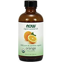 NOW Foods Organic Essential Oil, Orange/Citrus, 4 Ounce