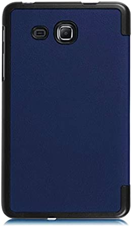 Protection Housse pour Samsung Galaxy Tab A SM-T280 7.0 Pouce Smart Slim Case Book Cover Stand Flip T285 Bleu NEUF