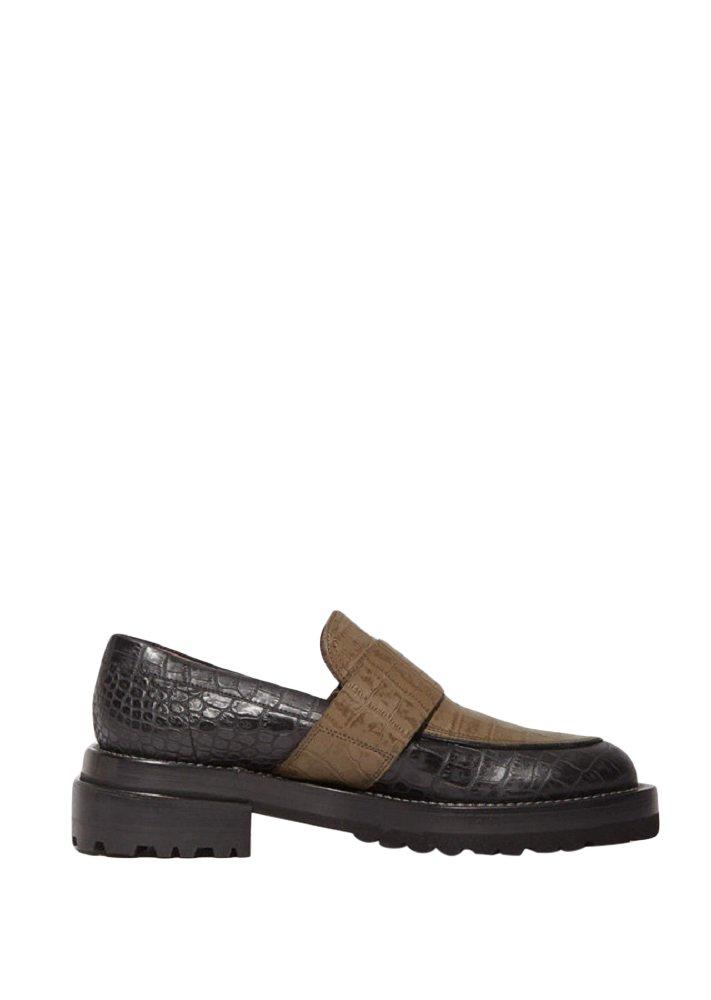 Marni Black Dune Loafers 39 by Marni