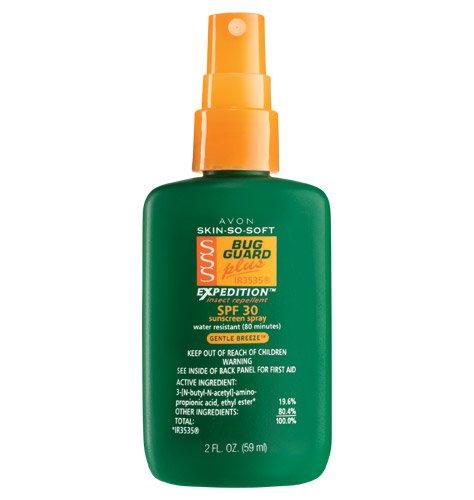 AVON Skin So Soft Bug Guard SPF 30 Mini Travel Size 2 oz