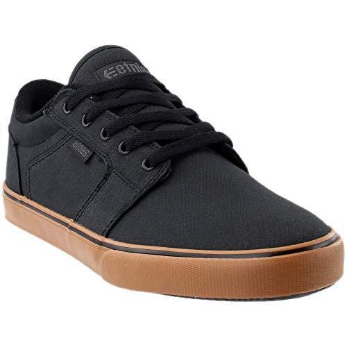 Etnies Men's Division Skate Shoe, Black/Gum, 8 Medium US