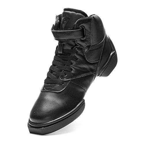 Skrog 1500 Jazz Gade Hiphop Dance Fitness Sport Høj Top Sneaker Farve Sort Sort NQPrUJfbIn
