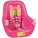 Zapf Creation 820803 - Baby Born 2-in-1 Fahrrad- und Autositz