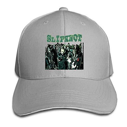 Corrine-S Slipknot Masks Skull Outdoor Ball Cotton Caps Adjustable Gray ()
