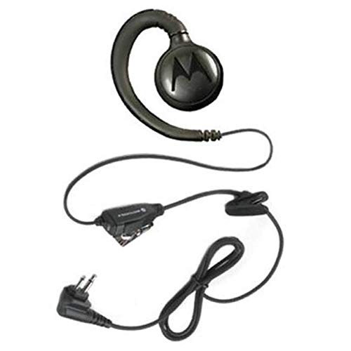 Motorola HKLN4604 HKLN4604A HKLN4604B Original Motorola Swivel Earpiece with Microphone and PTT - Replaces RLN6423 (Earpiece Motorola Radio Portable)