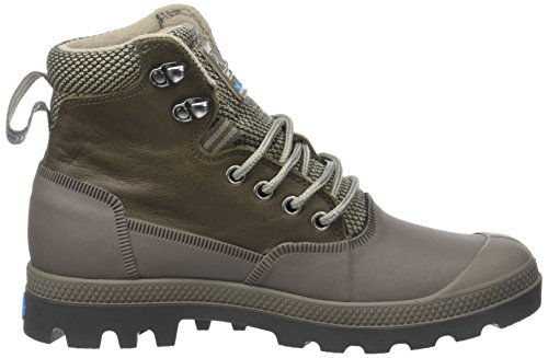 Sporcuf Sneaker 0 Unisex Fallen Grigio Rock Palladium Major Alto Collo a U Wp2 Brown Adulto dxnI8T