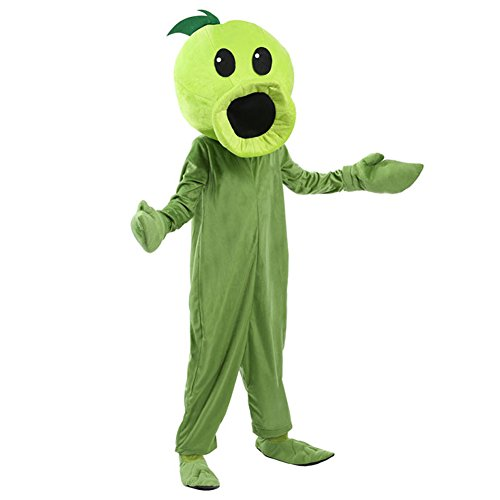 Kacm Plants vs Zombies Kids Costume Pea Shooter Stage Performance (Plants Vs Zombie Costumes)