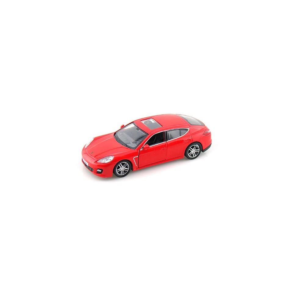 Porsche Panamera Turbo 1/36 Red