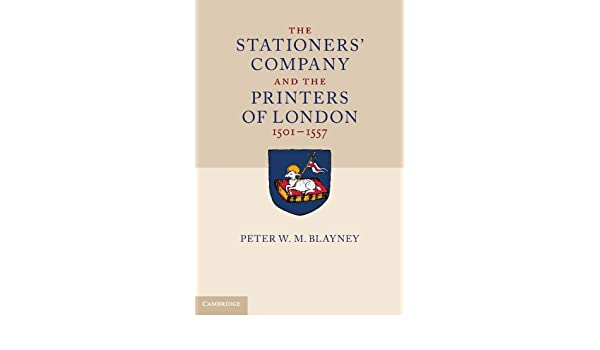 An Analysis of the Stationers' Company Register
