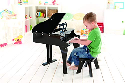 Hape Happy Grand Piano Toddler Wooden Musical Instrument by Hape (Image #1)