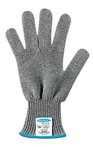 Ansell X-Large Gray And White Polar Bear® PawGard® Medium Duty Cut Resistant Gloves With Extended Tuff-Cuff And DSM Dyneema® Lined