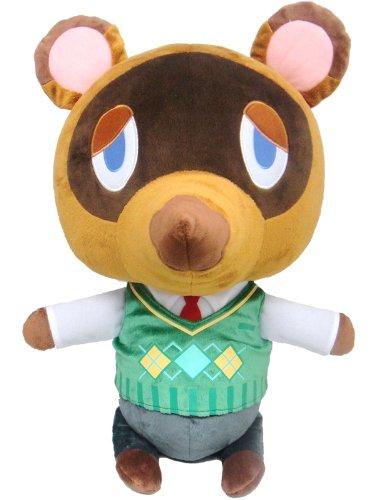 """Sanei Animal Crossing Tom Nook/Tanukichi Giant X-Large Sized 18"""" Plush"""