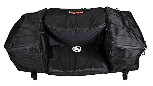Kolpin 91156 ATV 36L Gear & 20L Cooler Rear Storage Bag - BLACK
