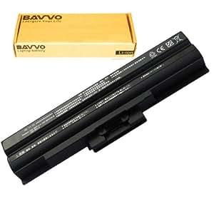 Bavvo Batería de Recambio para SONY VAIO VGN-NS11M/S,6 células