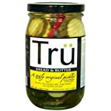 Tru Pickles - Bread & Butter Pickles - 16 Ounce (Pack of 12)