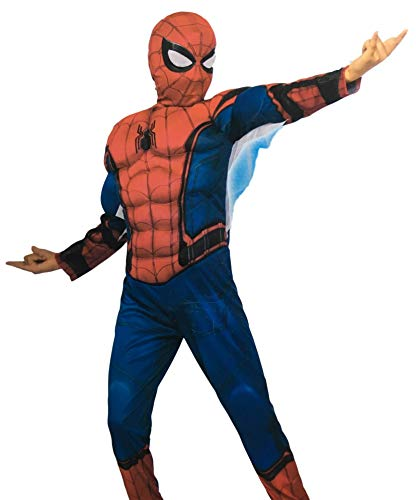 Marvel Boy's Spiderman Costume, Pajamas, Birthday Gift