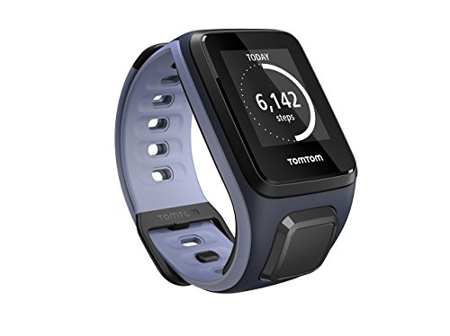 TomTom Spark, GPS Fitness Watch (Small, Sky Captain/Purple Haze)