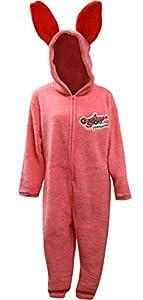 A Christmas Story Men's Pink Bunny Union Suit Pajama
