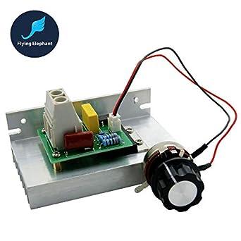 Regulador electrónico de alta potencia AC220V 10000W SCR Regulador de Velocidad Motor de Control