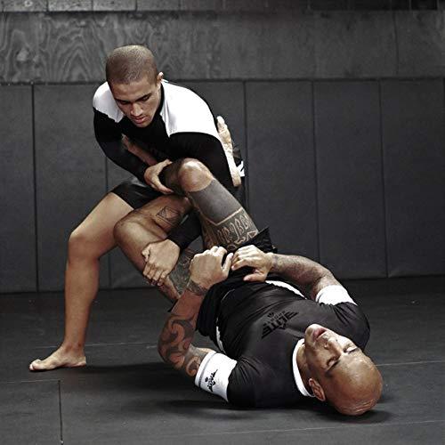 Elite Sports Full Long Sleeve Compression, MMA, BJJ, No-Gi, Cross Training  Rash Guard