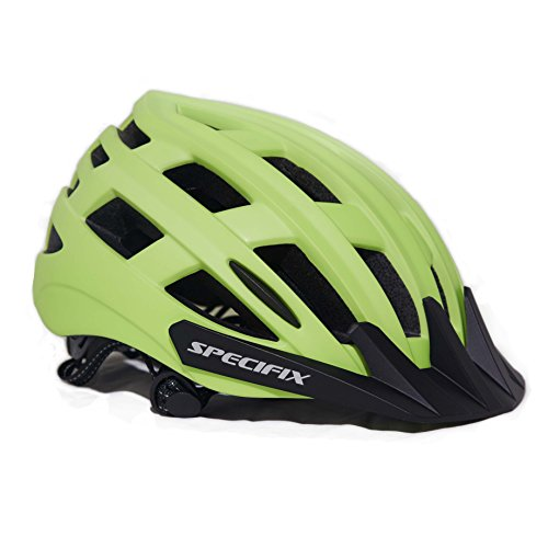 Specifix Cycling Bicycle CPSC Certified Adjustable Bike Safety Adult Helmet  with Removable Visor – Great for Road and Mountain Biking – MTB – Provides  an ... dea1feb0af