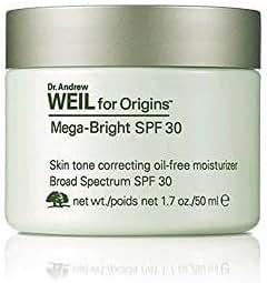 Dr. Andrew Weil for Origins Mega-Bright SPF 30 Skin Tone Correcting Oil-Free Moisturizer, 1.7 oz.