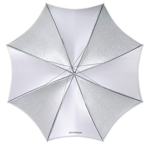 Westcott 2006 45-Inch Soft Silver Umbrella