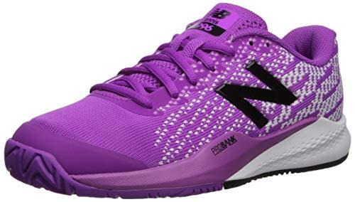 New Balance Women's 996v3 Hard Court Tennis Shoe, Voltage Violet/White, 10 B US