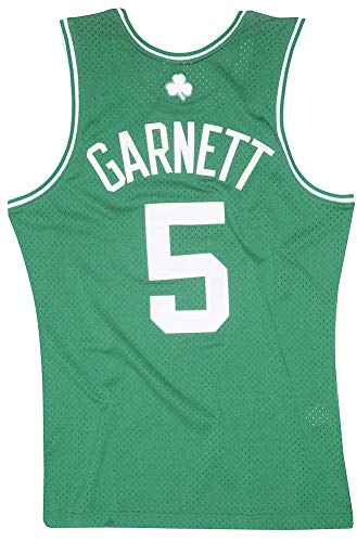 Mitchell & Ness Kevin Garnett 2007-08 Boston Celtics Replica Swingman NBA Jersey HWC Basketball Trikot Green